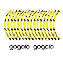 KODASKIN 2D Emblem Sticker Decal Wheel Rim for Gogoro kodaskin 2d printing wheel rim emblem sticker decal for yamaha nmax nmax155 abs