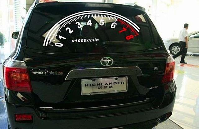 Modifikasi Mobil Setelah Kepribadian Kaca Depan Putih Merah Dan