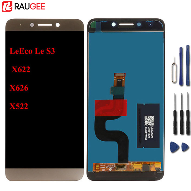 Für Letv LeEco Le S3 X626 LCD Display + Touch Screen 100% Neue Digitizer Panel Für Letv LeEco Le S3 x622 X522 5,5 zoll