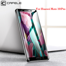 CAFELE Full Cover Tempered Glass for Huawei Mate 10 Pro Screen Protector Ultra Thin HD Clear Protective Glass for Huawei Mate10