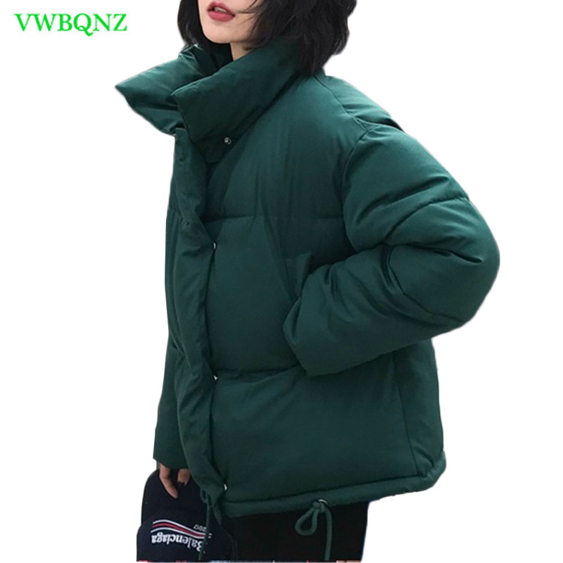 New Women Winter Coat Female Warm Down cotton jacket Women's Korean Bread service Wadded Jackets   parkas   Female jacket coats A941