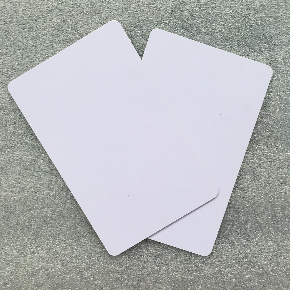 1000pcs good quality Fudan M1S50 <font><b>13.56Mhz</b></font> <font><b>ISO14443A</b></font> PVC blank NFC RFID card compatible with MIFARE Classic 1K chip image