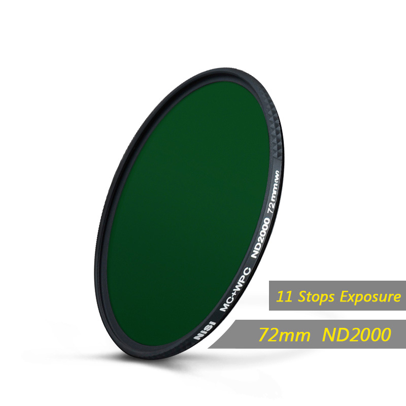 Nisi 67mm/72mm/77mm/82mm Nd2000 Neutral Density Filters Ultra Slim Gray Filter Mirror Landscape Photography Lens,EU tariff-free nisi 72mm nd1000 filter neutral density filters ultra slim nd 1000 gray filter mirror landscape photography lens free shipping