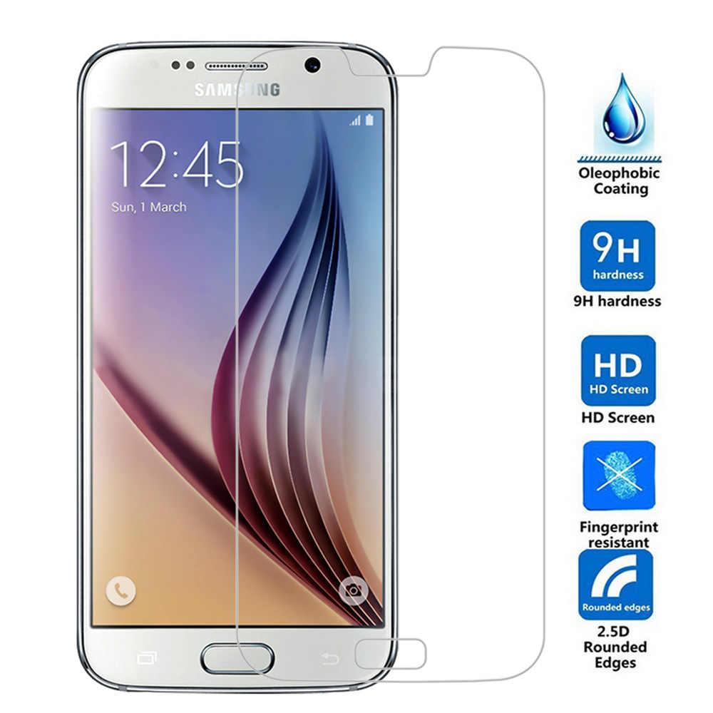 لسامسونج S5 واقي للشاشة 0.3 مللي متر رقيقة 9H الصلب HD الزجاج المقسى لسامسونج غالاكسي S5 S4 S3 A3 A5 A7 A8 E5 E7 ON5 ON7 G530