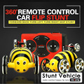 360 Grados Flip 5CH mini RC Coche Del Truco Super Fast Kits 'toys coche del truco super mini truco de juguete de control remoto coche enluator