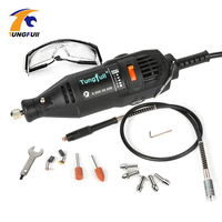 DREMEL MultiPro Drill Carving Pen Soft Shaft Accessories Top Level Grill Kits Goggles With Drill Chuck