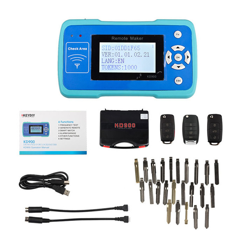 the Best Key Maker Tool KD900 for KD Remote Control Support More than 1000 Car Modles Can Update online 4