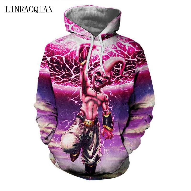 Galaxy 3D Sweatshirt Men Hooded Anime Dragon Ball Z Goku Fashion Mens Hoodies Sweat Homme Sportswear Hip Hop Male Sweatshirt 3XL