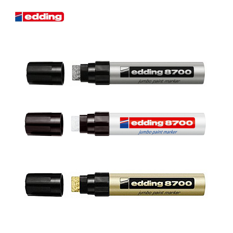 Germany Edding 8700 Paint Marker Pen 18mm Industry Marker Pen 1PCSGermany Edding 8700 Paint Marker Pen 18mm Industry Marker Pen 1PCS