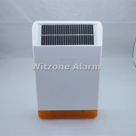 MD-326R 868MHz Solar External Waterproof Flash and Sound Siren Strobe Horn for 868MHz Home Alarm ST-IIIB, ST-VGT, ST-V