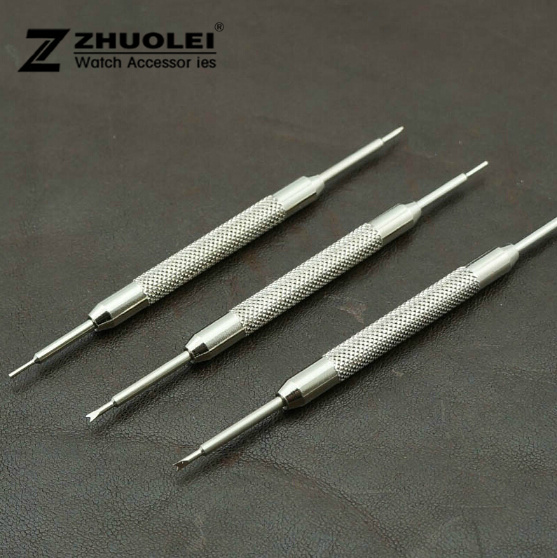 Wholesale Price 50pcs/Lot 2014 New High quality Watch Band Strap Silver Spring Link Pin Remover Repair Tool Bar Free Shipping high quality lowest price wholesale kz 19 pneumatic combination steel metal strapping packing machine for 19mm steel strap tape