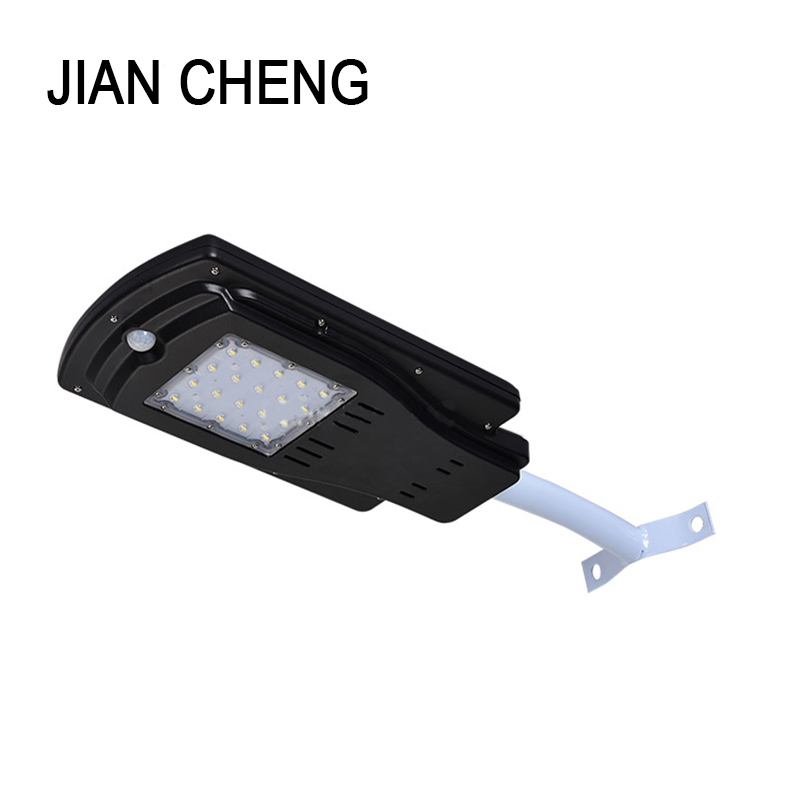 8W 10W Outdoor Waterproof IP65 Integrated All In One PIR Motion Sensor LED Solar Street Light for Garden Yard Road Path Lighting ...
