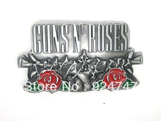 vente limitée Meilleure vente regarder € 19.91 |Gun's N' Rose Rock N' Roll boucle de ceinture dans Boucles et  Crochets de Maison & Jardin sur AliExpress.com | Alibaba Group