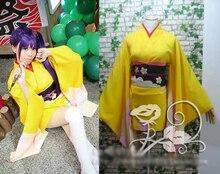 Gintama Terakado Tsu ídolo anime cos Kimono Dress Cosplay traje de Halloween para mujeres