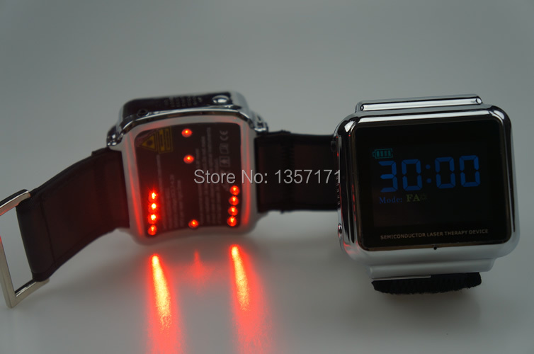 650nm diode laser LLLT system blood pressure watch 2017 control blood pressure 650nm soft laser healthy natural dropshipping smart watch