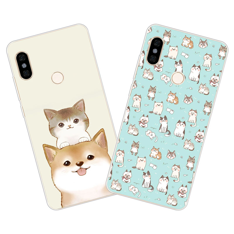 xiaomi mi mix 3 Case,Silicon Cute cat cartoon Painting Soft TPU Back Cover for xiaomi mi mix 3 protect cases shell