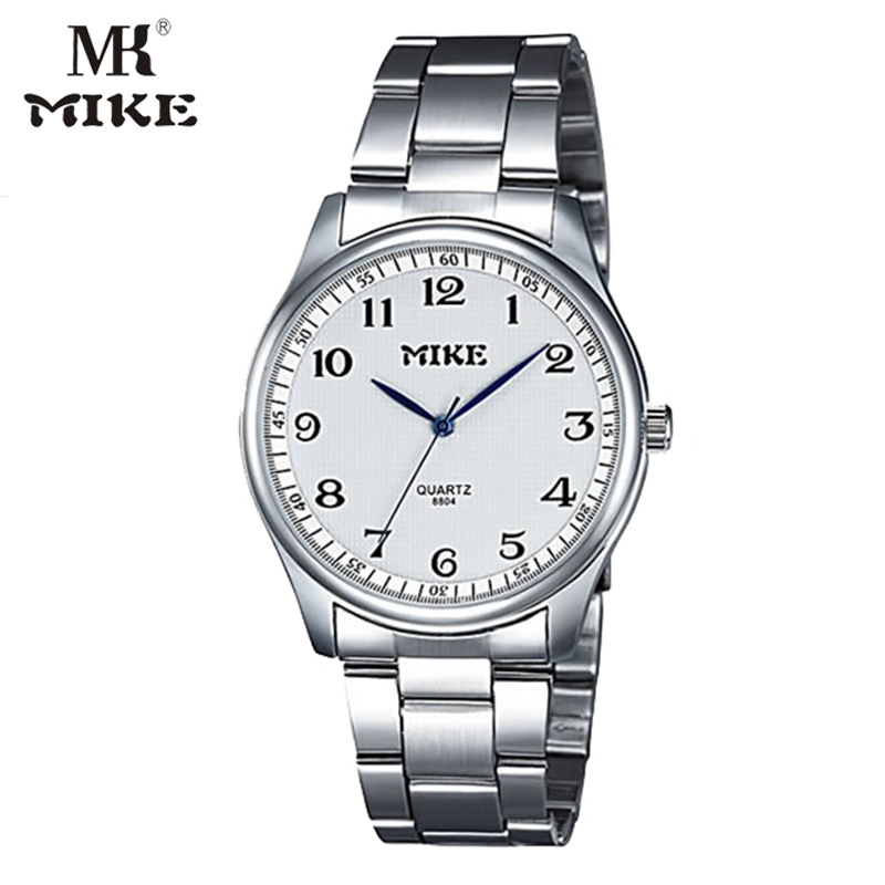 MK Mike Classic Watch Ladies Watch Couple Quartz Watch Bayan Gift For Mother Stainless Steel Japanese Movement Relogio Masculine
