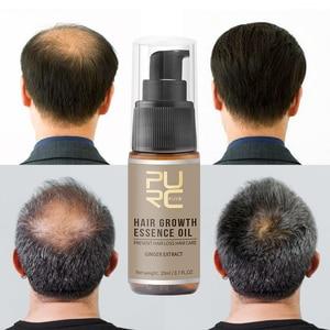 Image 5 - PURC offre spéciale épaississement shampooing croissance des cheveux essence huile ensemble traitement de perte de cheveux soutient la croissance des cheveux en bonne santé ensemble de soins capillaires