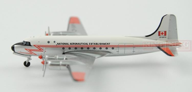 Aeroclassics national aviation agency CF-SVP-X 1:400 DC-4 commercial jetliners plane model hobby