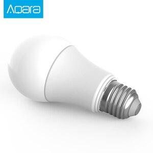 Image 3 - Nouvelle ampoule de LED de couleur blanche intelligente Aqara Zigbee 9W E27 2700K 6500K 806lum