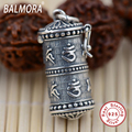 New Vintage 100% Real Pure 925 Sterling Silver Jewelry Buddhistic Scriptures Pendants Women Men Accessories Gift Bijoux SY11119