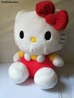 Dibujos Animados gatito sobre 45 cm rojo encantador gato Kitty peluche suave almohada Regalo de Cumpleaños w0102