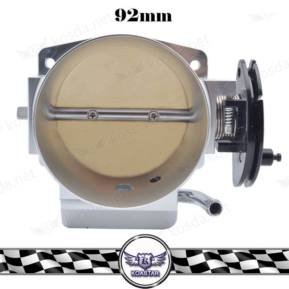 Aluminum 92mm Throttle Body For GM LS1 LS2 LS3 LS6 LSX TB1021S free shipping new throttle body 92mm for gm gen iii ls1 ls2 ls6 throttle body for ls3 ls ls7 sx ls 4 bolt cable vr6937