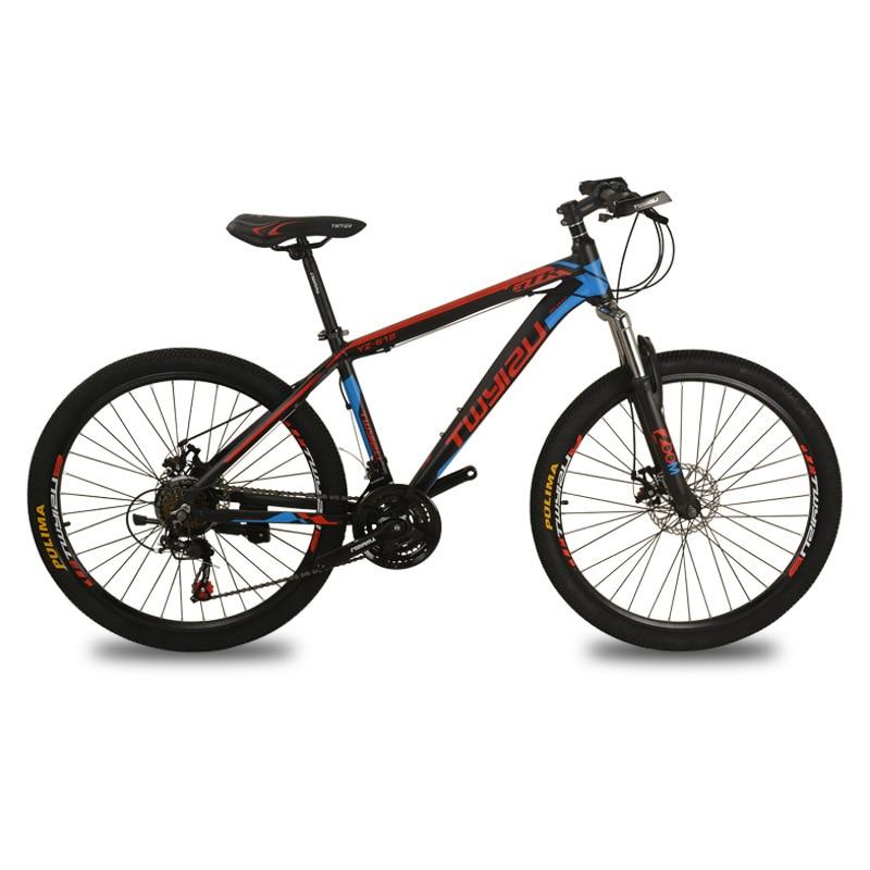 Mountain Bike New Adult 26 Inch Shock Absorption 21 Speed Aluminum Alloy Mountain Bike