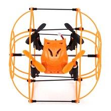 Оригинал helic max мини drone небьющиеся дистанционного управления тент вертолет беспилотный самолет 3d опрокидывание toys vs syma x18