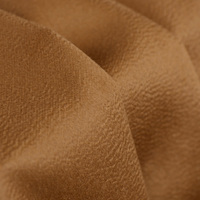 Double sided water ripple cashmere fabric (30%cashmere+5%silk+65%wool) 800gsm camel overcoat fabrics width150cm