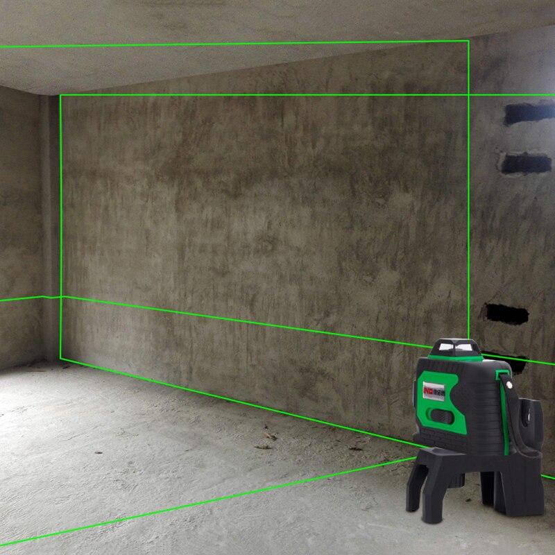 Новый LND 3D зеленый лазерный уровень лазерная линия 360 лазер
