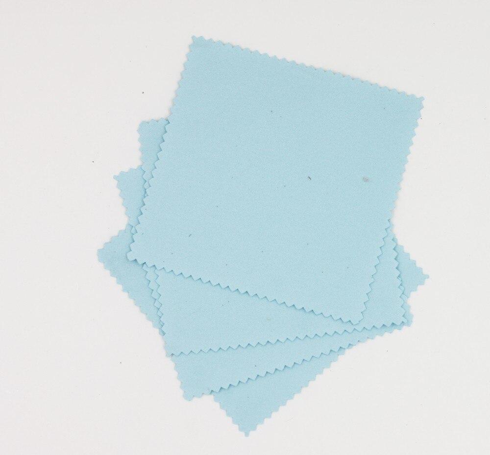 Revestimiento de cristal paño de aplicación de cristal revestimiento de agente paño de vidrio paño de microfibra nano paño de gamuza para coche (10 unids/color LOblue)