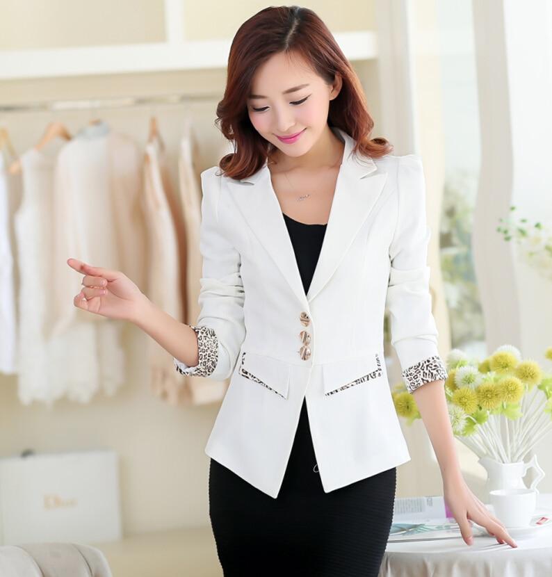 186298d5446a8 Shrug pequeño traje chaqueta femenina blazers traje chaqueta blazer para  las mujeres M XXL de manga larga chaquetas casuales en Chaquetas y  americanas de La ...