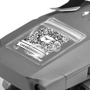 Image 5 - Capa de código qr para dji mavic 2 pro, 5 peças mavic pro para dji spark mavic air, estampa de código à prova d água capa de proteção phantom 3 4
