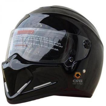 DIY CRG ATV-4 Personalized SIMPSON Sticker Motorcycle Racing Full Face Helmet F1 Capacete De Moto Riding Cascos Motorrad