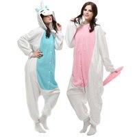 Unisex tier pyjamas für erwachsene lilo und stitch pyjamas erwachsene pokemon pyjamas onesies polar fleece winter nachtwäsche halloween