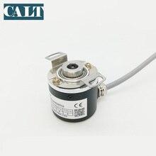 цена на CALT 5 Vdc line driver optical incremental Blind hollow shaft rotary encoder 100 200 500 600 1000 1024 2000 2500 3600 Pulse P/R