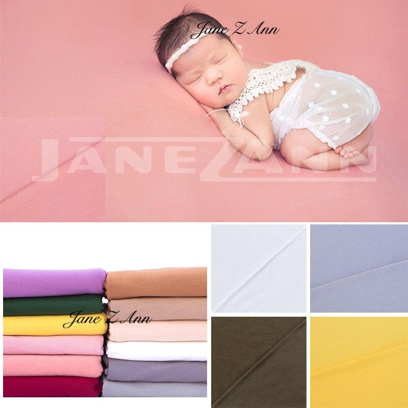 Jane Z Ann bébé lait velours fond couverture pour nouveau-né photographie accessoires photoshoot studio 170*150 cm