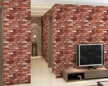 beibehang papel de parede papier peint hudas beauty 3d solid simulation brick wall paper gray green wallpaper