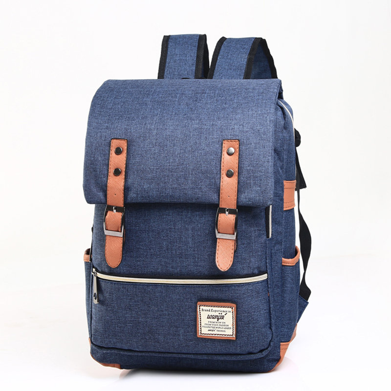 New Women Canvas Backpacks Famous Brands Laptop Backpack For Teenage Girls School Bags Men Large High Quality Mochilas Escolares