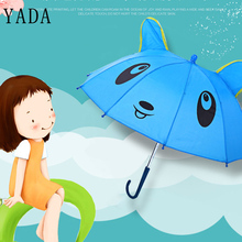 YADA Baby Girls DIY Toys Doll Animal Umbrella Handmade Outdoor Gift Kids Lovely Children Design Cartoon Hat YD031
