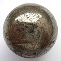 HOT 1PC 40mm Natural Pyrite Ball Healing Sphere Specimens exquisite gift or home decoration Free Shipping