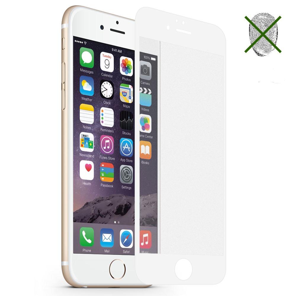 for iPhone 8 Plus screen protector for iPhone X 7 6S 6 Plus tempered glass Matte coating full cover case bubble free accessaries