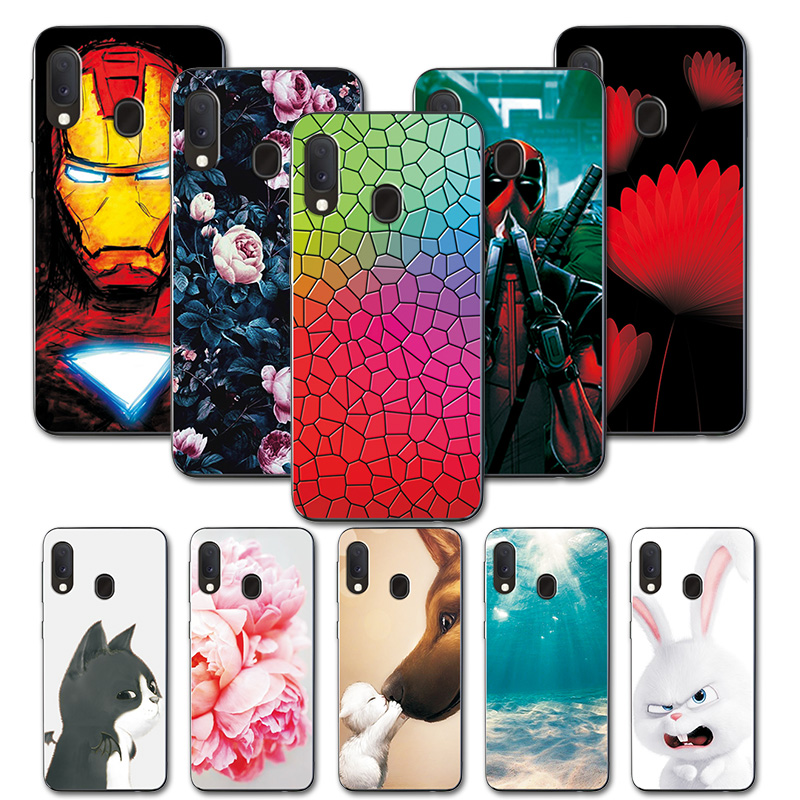 Various Pattern Cases For Samsung A20e Case Soft TPU Phone Cases For Samsung Galaxy A20e A 20e A20 E Silicon Case Cover Coques