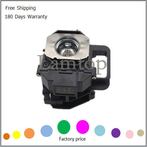 ФОТО 180 DAYS WARRANTY projector lamp   PROJECTOR BULB  ELPLP49/ V13H010L49  with housing/case