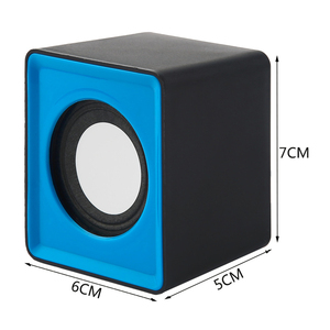 Image 5 - Portable speaker Mini USB 2.0 speakers Music Stereo for computer Desktop PC Laptop Notebook home theater