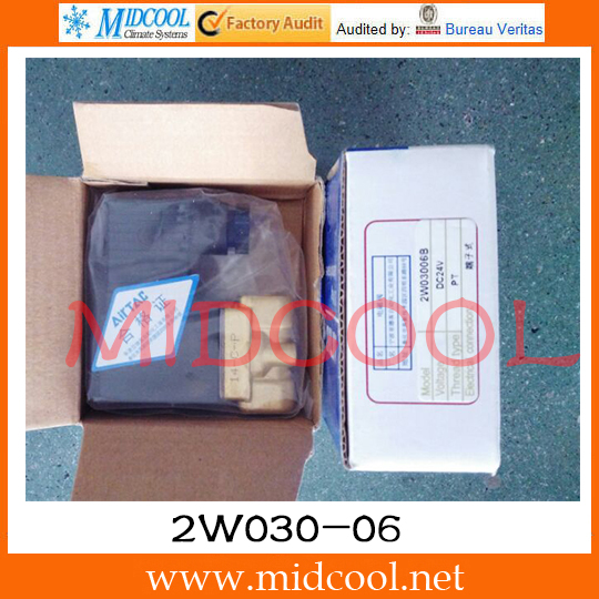 Original AirTAC Fluid control valve (2/2way) 2W Series (Direct-acting and normally closed) 2W030-06