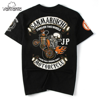 Vantanic Brand Tops Tees Shirt Men T Shirts Hip Hop Printed Casual O Neck Short Sleeve