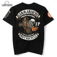 Vantanic Brand Tops Tees Shirt Men T Shirts Hip Hop Printed Casual O Neck Short Sleeve
