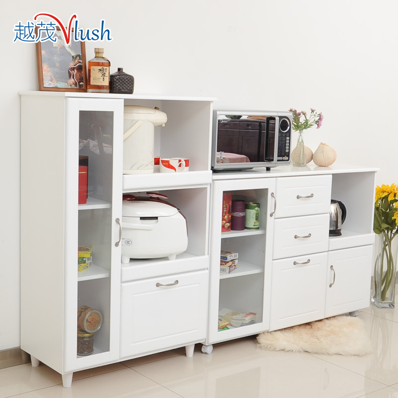 Wood sideboard tea cupboard cupboards white minimalist modern kitchen cabinets lockers meal - Aparadores para cocina ...